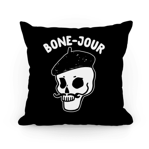 Bone-Jour Pillow