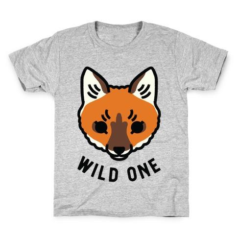 Wild One Fox Kids T-Shirt