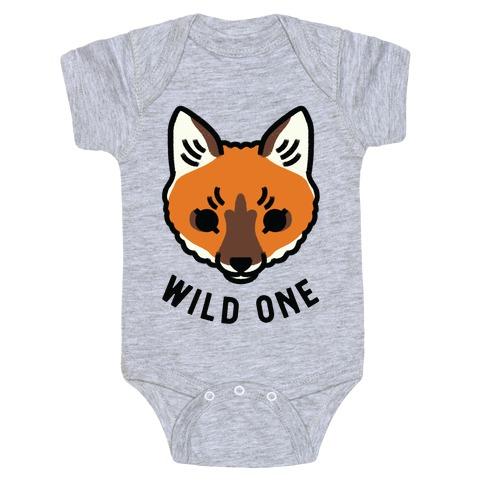Wild One Fox Baby One-Piece