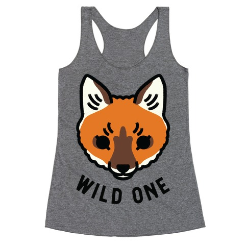 Wild One Fox Racerback Tank Top