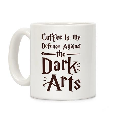 Coffee Is My Defense Against The Dark Arts Coffee Mug