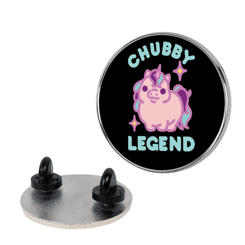 Chubby Legend Unicorn Pin