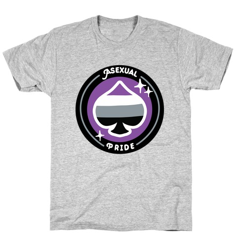 Asexual Pride Patch T-Shirt