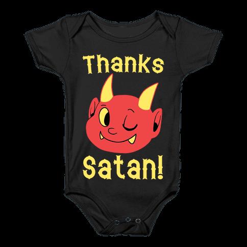 Thanks, Satan! Baby Onesy