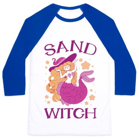 Sand Witch Baseball Tee
