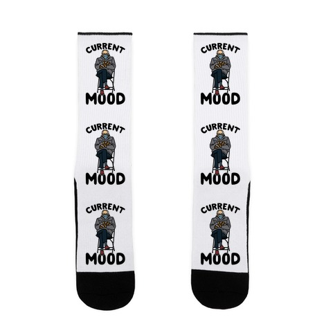 Current Mood Sassy Bernie Sanders Sock