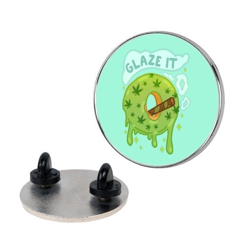Glaze It Donut Pin