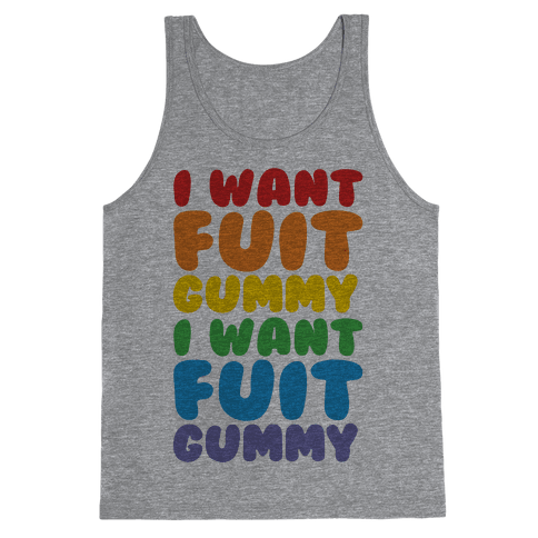 I Want Fuit Gummy Tank Top