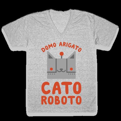 Cato Roboto V-Neck Tee Shirt