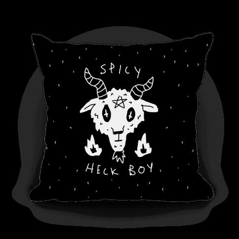 Spicy Heck Boy Satan Pillow
