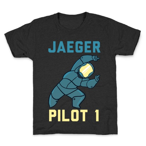 Jaeger Pilot 1 (1 of 2 Pair) Kids T-Shirt