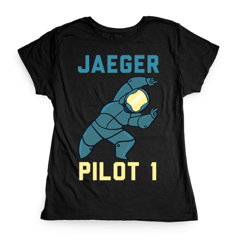 Jaeger Pilot 1 (1 of 2 Pair) Womens T-Shirt