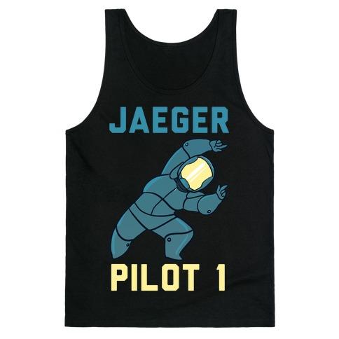 Jaeger Pilot 1 (1 of 2 Pair) Tank Top