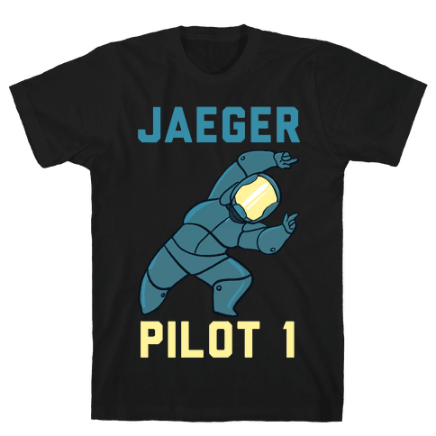 Jaeger Pilot 1 (1 of 2 Pair) Mens T-Shirt