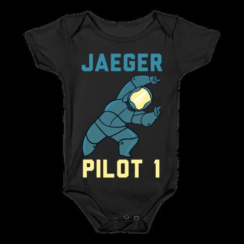 Jaeger Pilot 1 (1 of 2 Pair) Baby Onesy