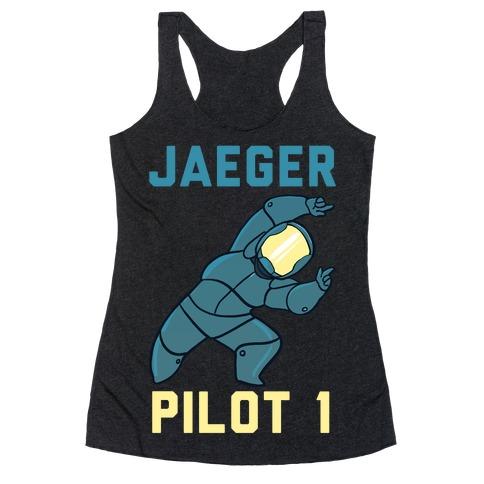 Jaeger Pilot 1 (1 of 2 Pair) Racerback Tank Top