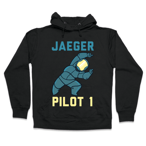 Jaeger Pilot 1 (1 of 2 Pair) Hooded Sweatshirt