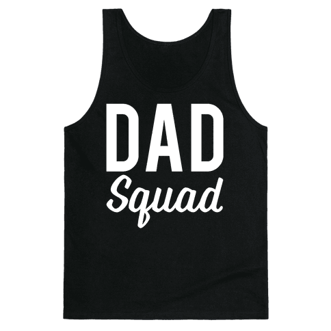 Dad Squad Tank Top