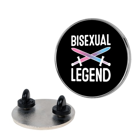 Bisexual Legend Pin