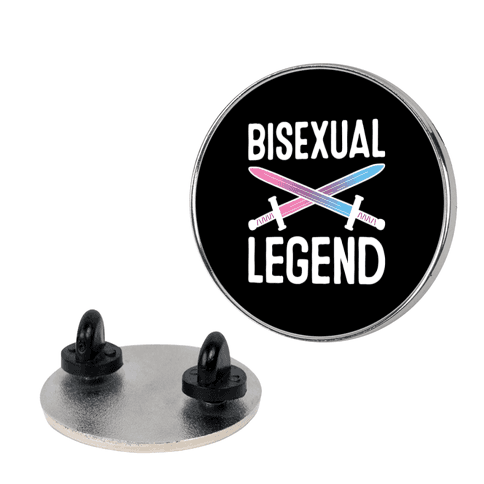 Bisexual Legend Pin