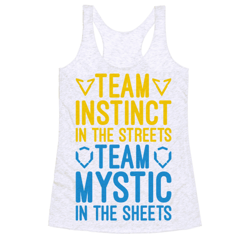 Team Instinct In The Streets Team Mystic In The Sheets Parody