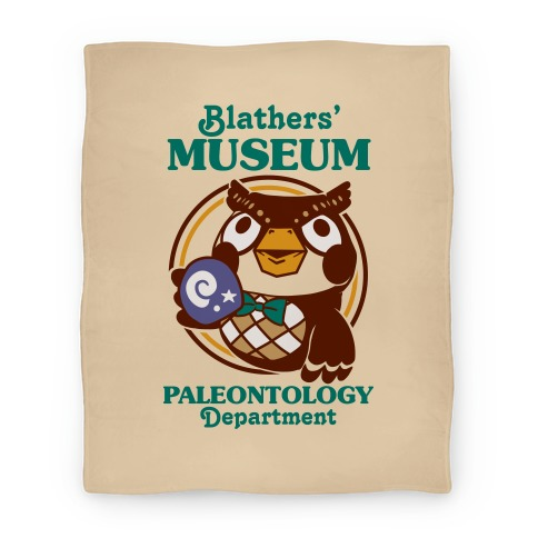 Blathers' Museum Paleontology Department Blanket