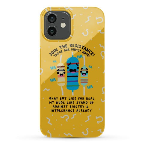 Join the Resistance Phone Case