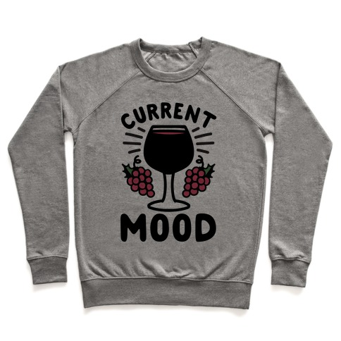 Current Mood: Wine Pullover