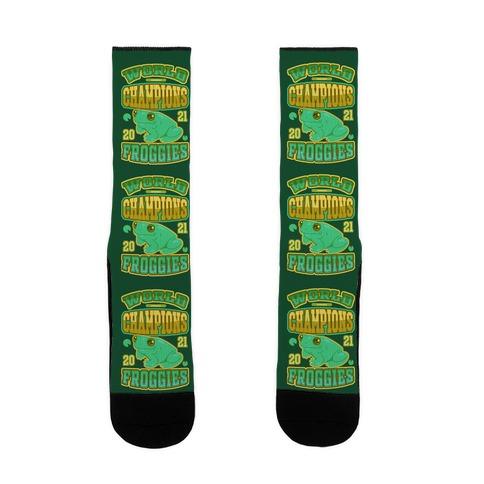 World Champions Froggies Sock