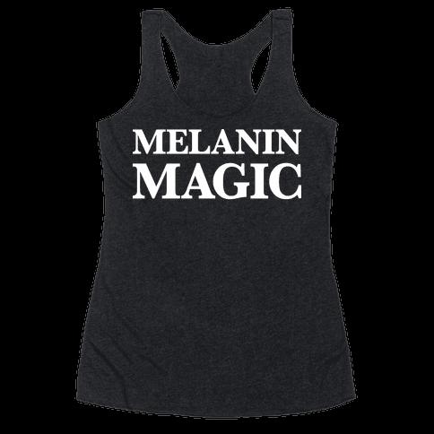 Melanin Magic Racerback Tank Top