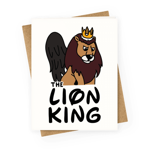 The Lion King Moonracer Greeting Card