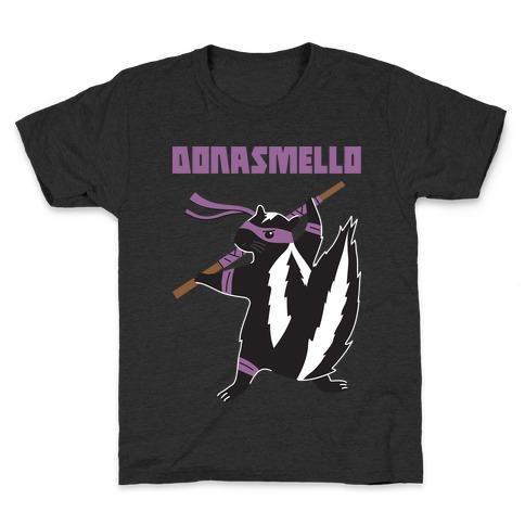 Donasmello (Donatello Skunk) Kids T-Shirt