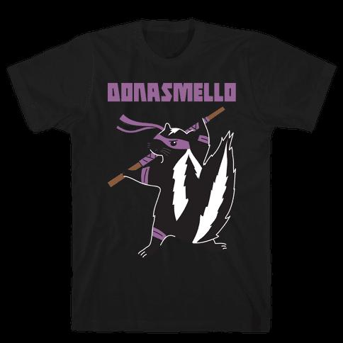 Donasmello (Donatello Skunk) Mens/Unisex T-Shirt