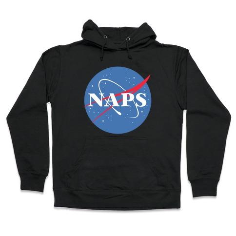 Naps Nasa Parody Hooded Sweatshirt