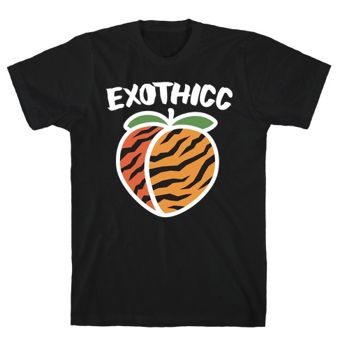 Exothicc Tiger Peach T-Shirt