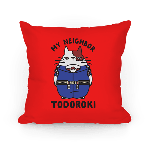 My Neighbor Todoroki Pillow