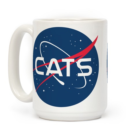 Cats Nasa Parody Coffee Mug