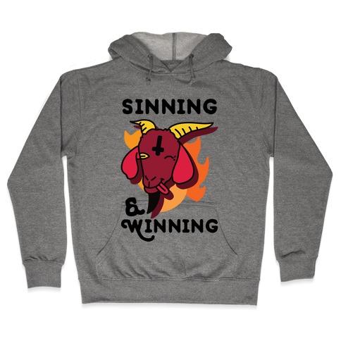 Sinning & Winning Hooded Sweatshirt