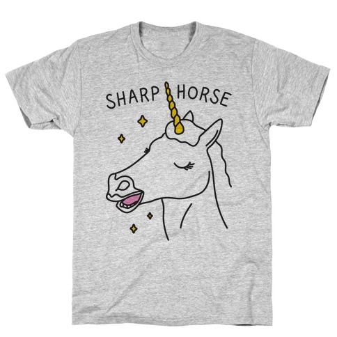 Sharp Horse T-Shirt
