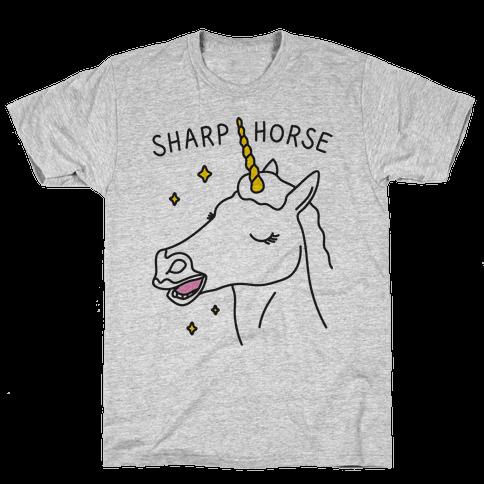 Sharp Horse Mens T-Shirt
