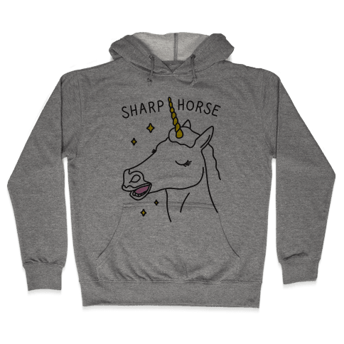 Sharp Horse Hooded Sweatshirt