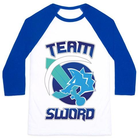 Team Sword Baseball Tee