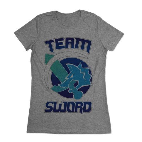 Team Sword Womens T-Shirt