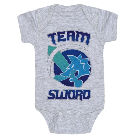 Team Sword Baby Onesy
