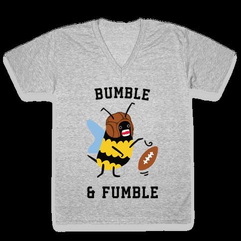 Bumble & Fumble V-Neck Tee Shirt