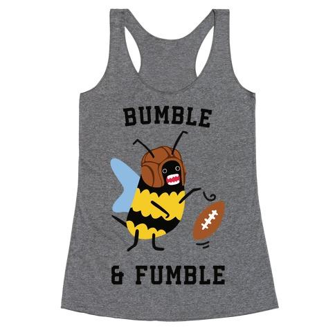 Bumble & Fumble Racerback Tank Top