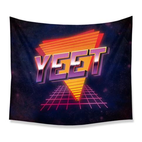 Retro YEET Tapestry
