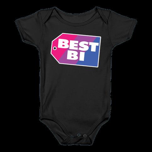 Best Bi Parody Baby Onesy