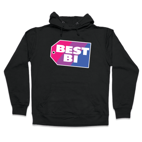 Best Bi Parody Hooded Sweatshirt