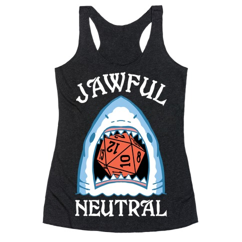 Jawful Neutral Racerback Tank Top